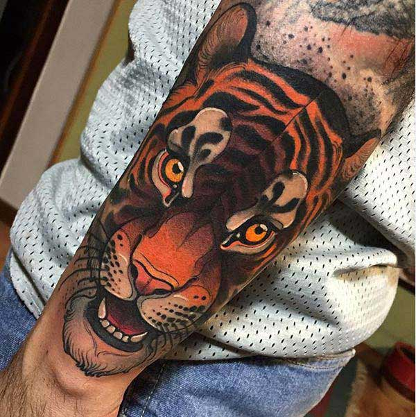 beautiful tiger tattoos
