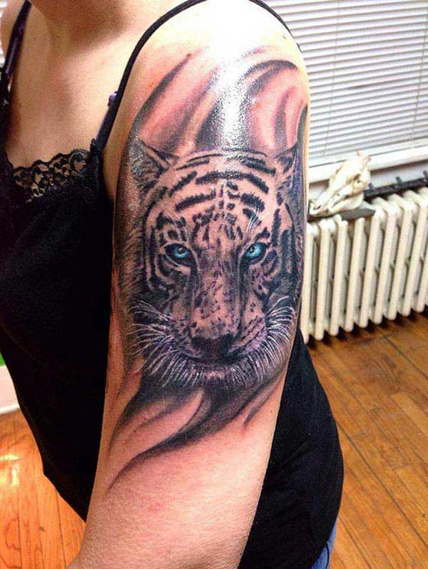 cool tiger tattoos