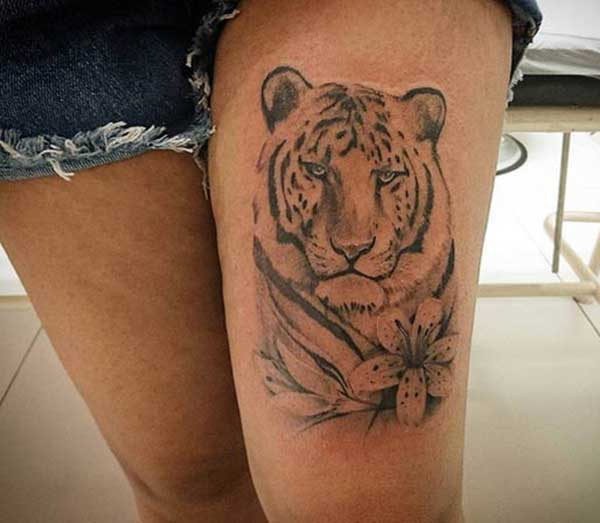 tigre tattoos pic