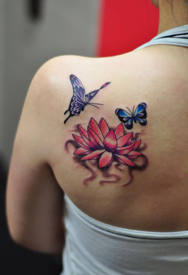 lovely lotus flower tattoos