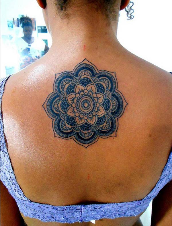 Mandala tattoos mata