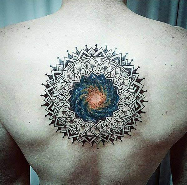 beautiful mandala tattoos