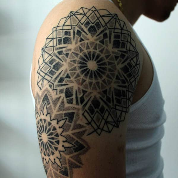 mandala tattoos for guys