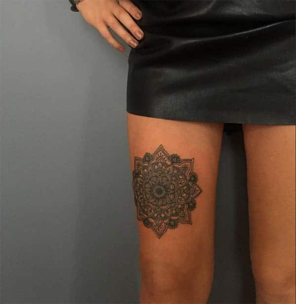mandala tattoos images