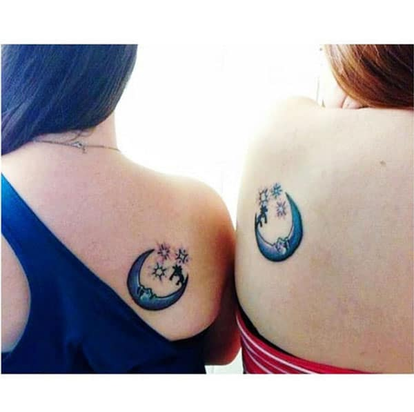 lovely sister tattoos