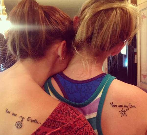 sister tattoo images