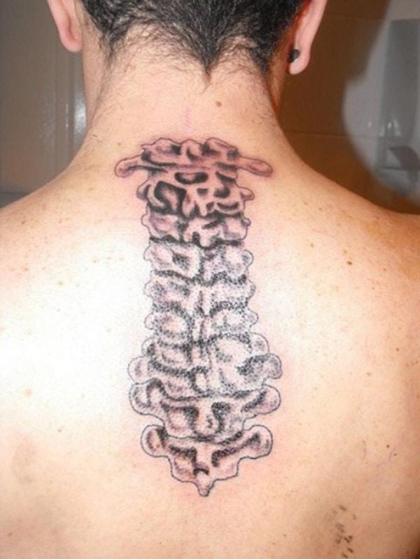 spine tattoos for guys