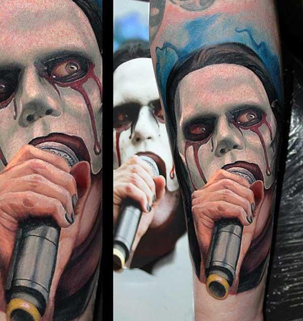guys 3d tattoos