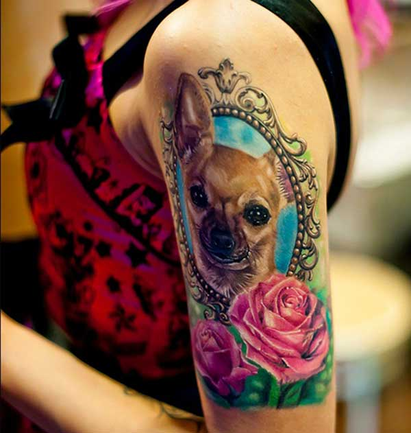 sexy hond tattoos