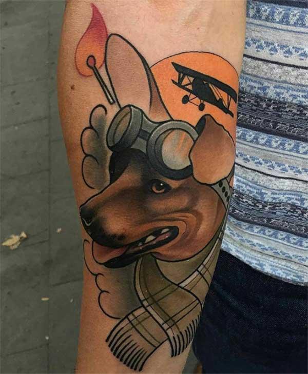 kreativne tetovaže pasa