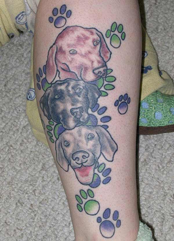 lijepe tetovaže psa