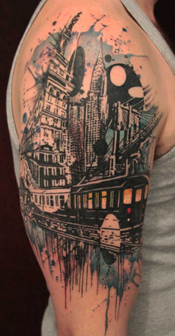 cool half sleeve for men tattoos