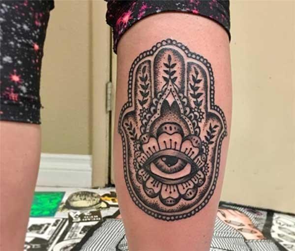 Sarkar hamsa tattoos