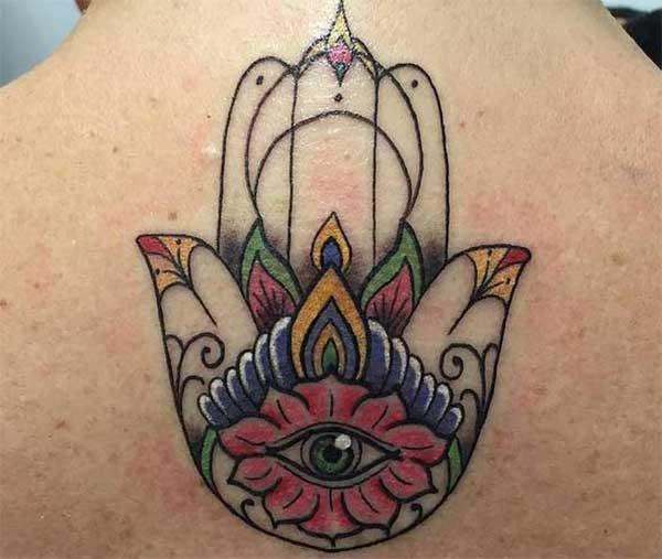 hamsa baya tattoos