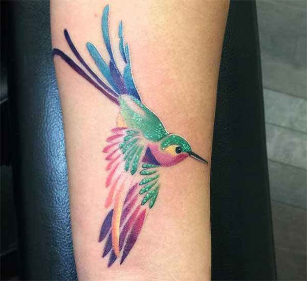 letsoho la hummingbird tattoo