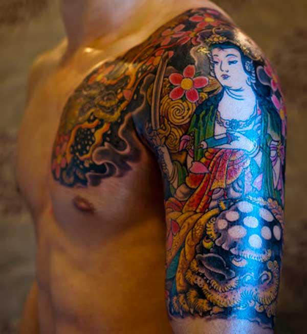 Japanse stijl tattoos