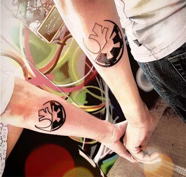 kongruantaj tatuajes por paroj