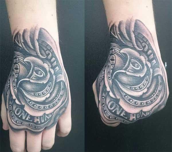 money tattoo ideas