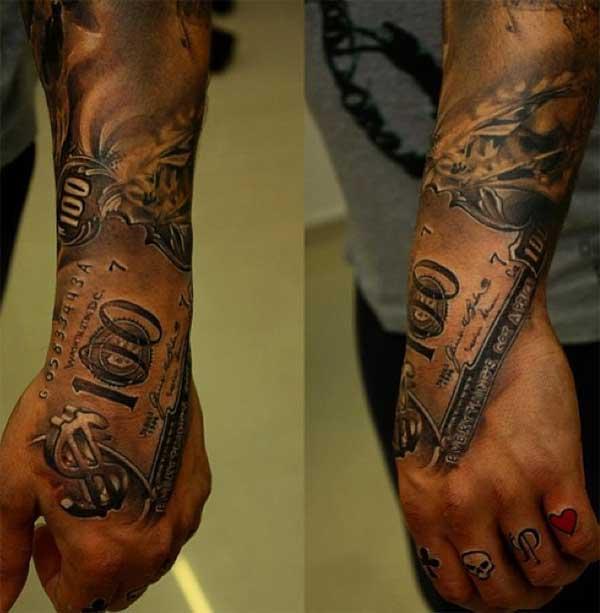 cash money tattoos