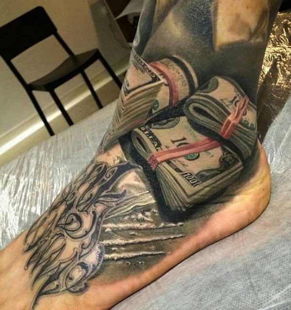 amazing money tattoos