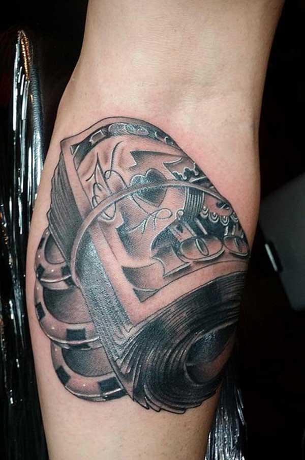 tetovaže dizajna novca