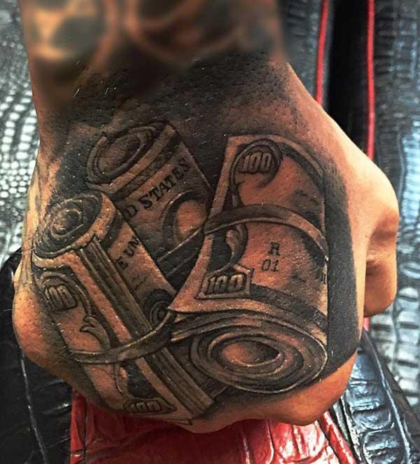 novac tetovaža dizajne za muškarce