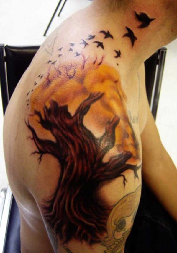 txiv neej lub xub pwg tattoos