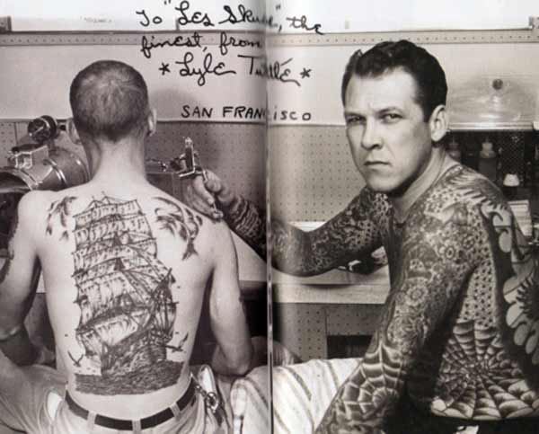 Tattoos vintage lectures