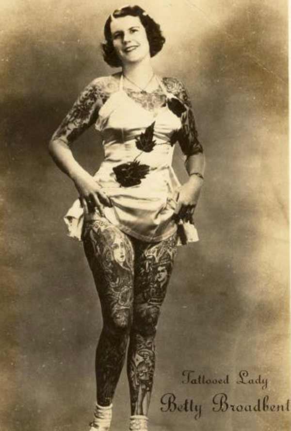 sexy tatoazy vintage