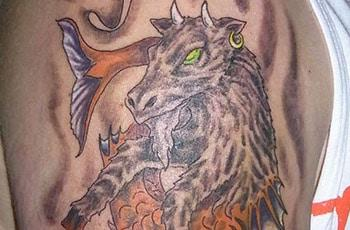 Best capricorn tattoos imewe