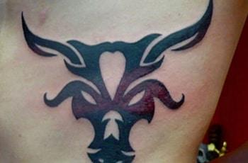 best taurus tattoos design idea