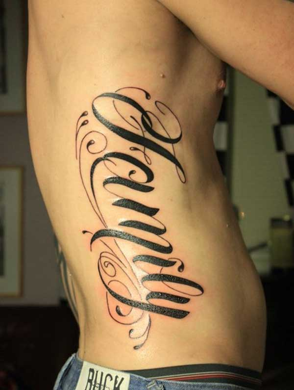 tato keluarga untuk cowok