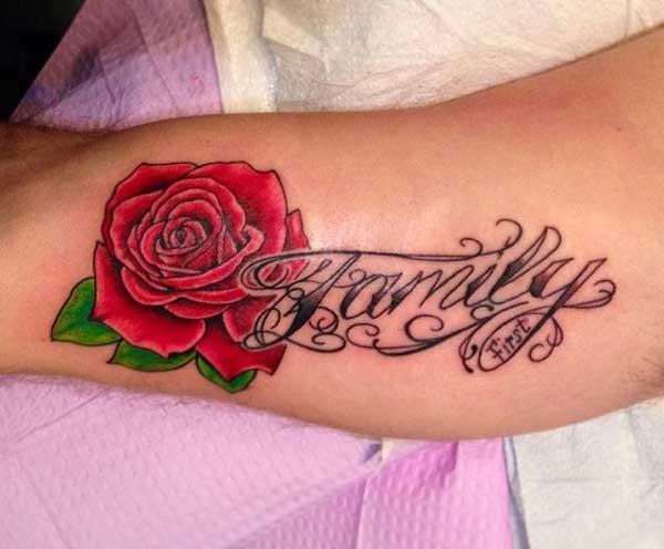 tetoválás család