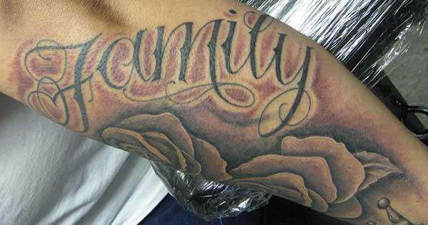 tato untuk ide keluarga