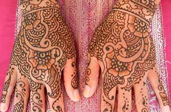 best henna design for back hand