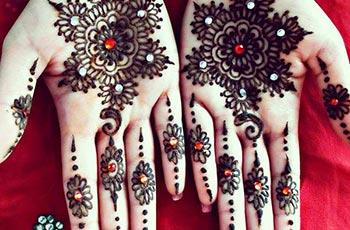 Best henna design for palms