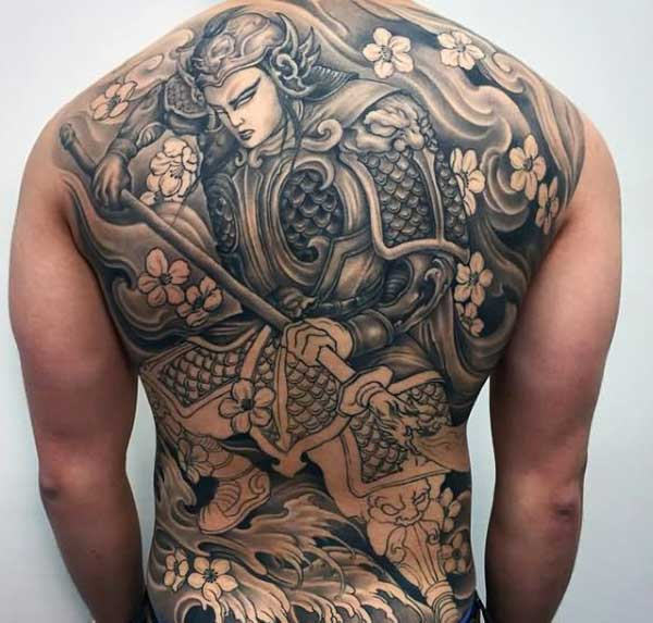 full back samurai tatoveringer