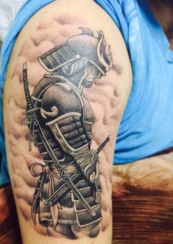samurajų tatuiruočių menas