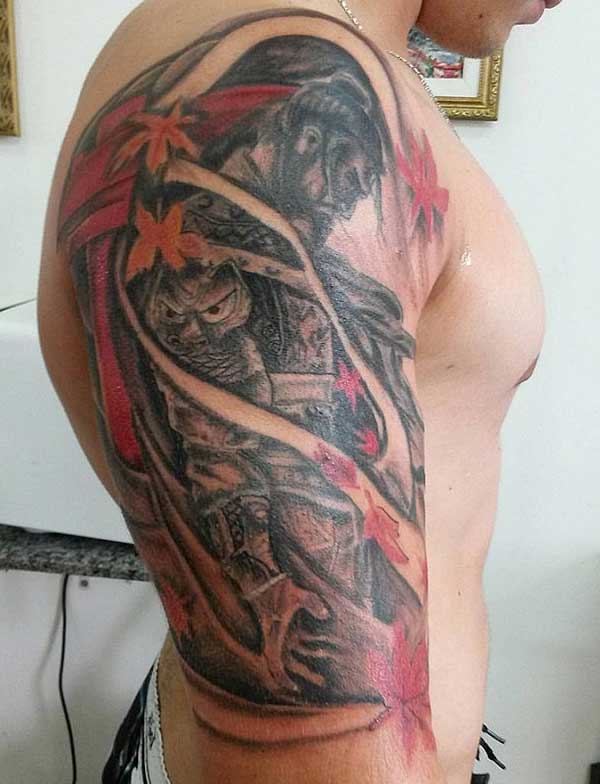 japanese samurai tattoos
