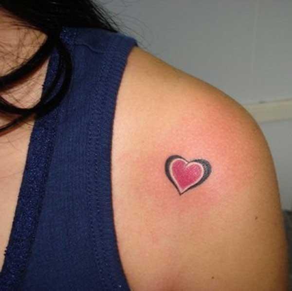 tatuatges de cor petit