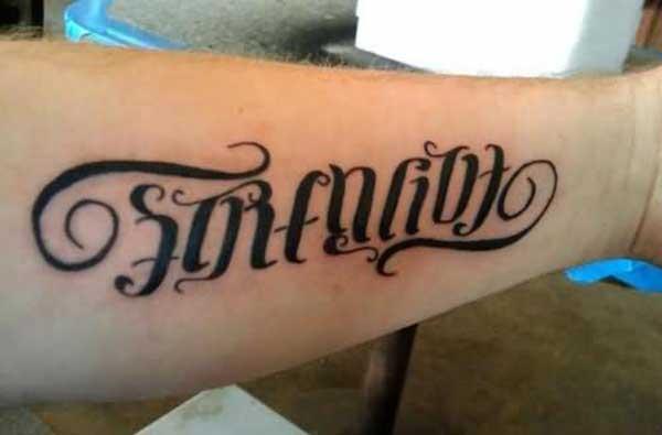 gagasan tattoo kakuatan