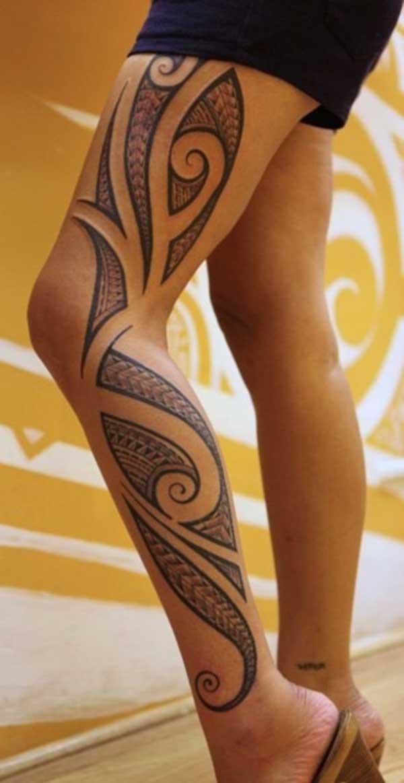 meisjes tribal tattoos