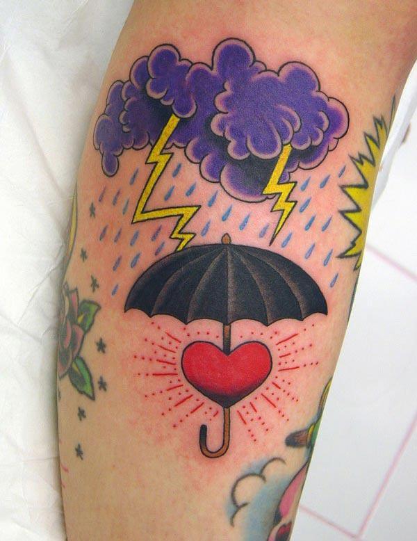 Tatooch-tatoet op 'e foet bringt it ynstellings yn' e manlju