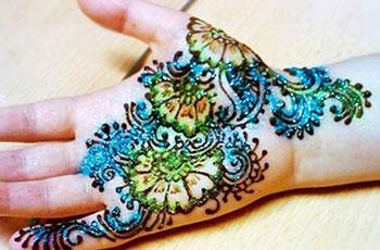 best henna design for kids