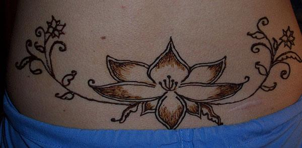 Henna / Mehndi tain-tebiteby mibaribary hevitra