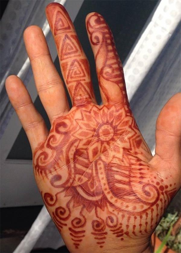 Amuna a Henna / Mehndi zojambulajambula malingaliro