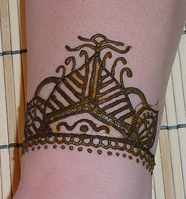 손목 Mehndi 문신 디자인 아이디어