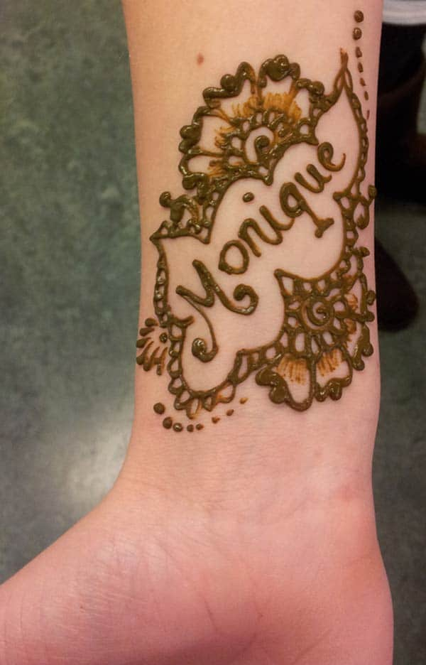 What Stores Sell Henna Tattoo Ink: Henna Mehndi Tattoo Designs Idea For Wrist