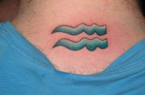Aquari blau de disseny per marcar una identitat diferencial entre d'altres