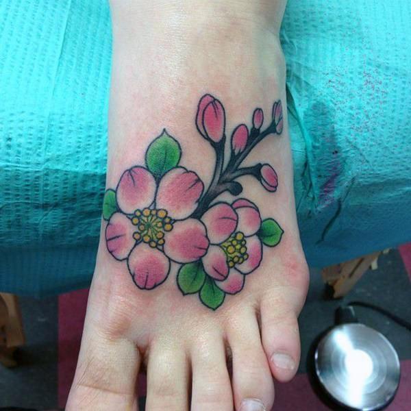 Gør en guddommelig Cherry Blossom til fods for at flaunt det